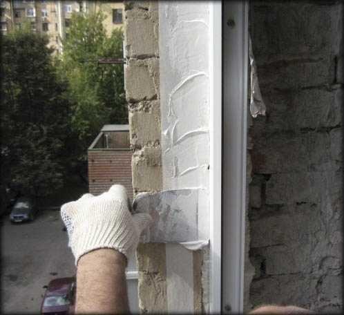 Можно ли на монтажную пену наносить цементный раствор арм бетон