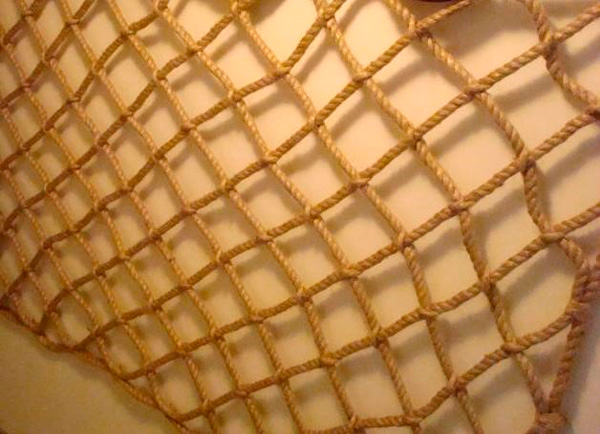 Верёвочная сетка своими руками 74